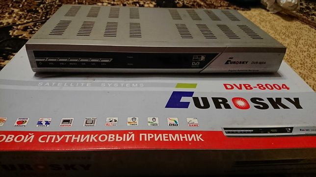 Спутниковий тюнер eurosky dvb-8004