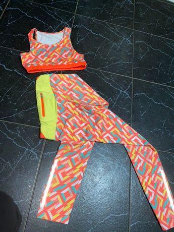 костюм спортивный для танцев, фитнеса, гимнастики Demix 134 см 299 грн