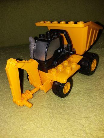Wywrotka składana Blocks Truck Track dla 4-6 latka model z wiertłem