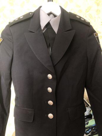 Китель, рубашка, галстук Полиция