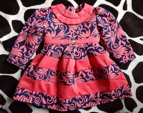 Платье для девочки 80-86см