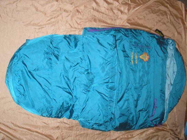 Брендовый спальный мешок пуховый кокон мумия World Cruiser Ultralight