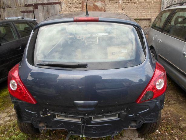 Klapa Tył Opel Corsa D Stan BdB