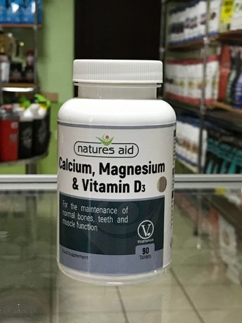 Кальций Магний + Д3, Calcium Magnesium Vitamin D3 - 90 табл.(карнитин)