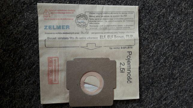 Worki do odkurzacza Zelmer Elf