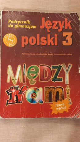 Język polski 3 Między nami - gimnazjum - podręcznik