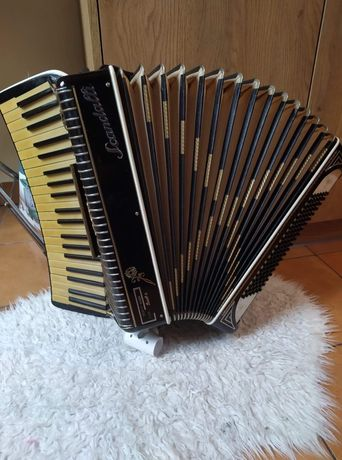 Akordeon Scandalli scott-wood 120 basów