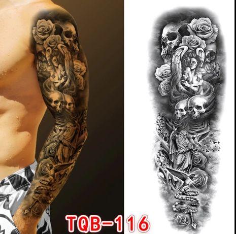 Tatuagem Autocolante Temporária tamanho Braço Completo