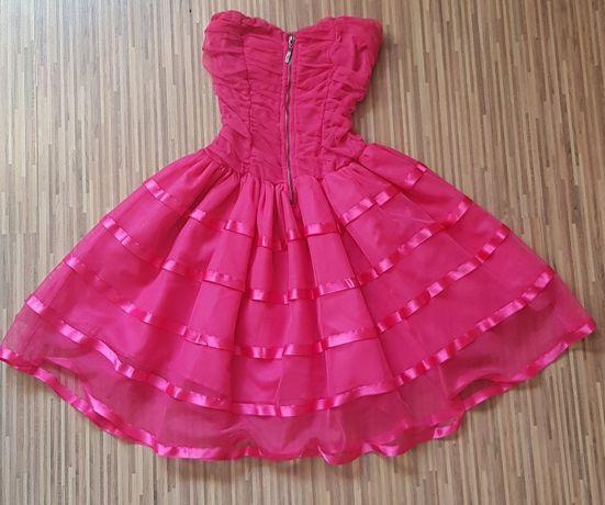 Różowa sukienka PRINCESKA