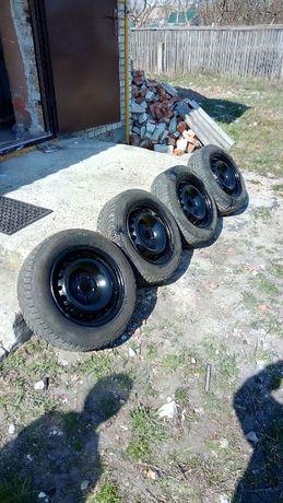 Комплект колес + датчики давления на рено меган 195 65 R15