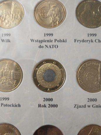 Moneta 2zł 2000rok Rok 2000