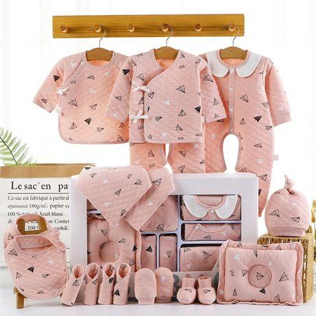 Подарочный набор для новорожденного из 22 вещей. Подарок девочке. Хит
