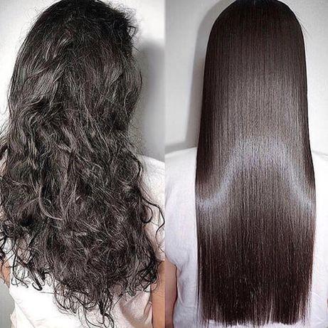 Кератиновое выпрямление волос ботокс холодное восстановление
