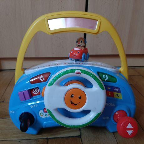 Kierownica Fisher price, zabawka interaktywna