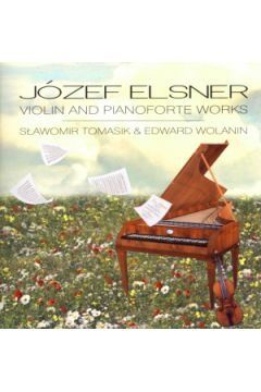 CD Józef Elsner Violin and pianoforte works, Nowa w folii