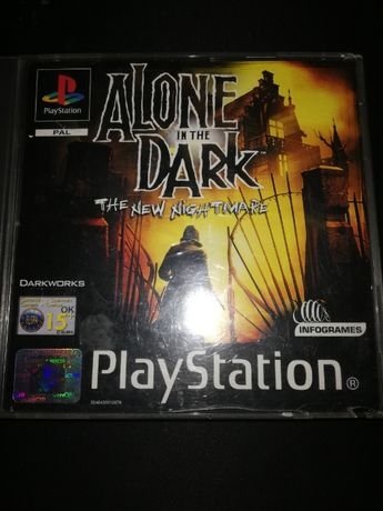 Alone in the dark 4 playstation PSX