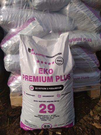 Ekogroszek Eko Premium Plus, 29MJ/kg Suchy Workowany Transport HDS