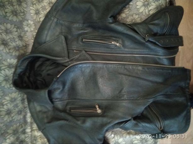 Куртка кожаная касуха.