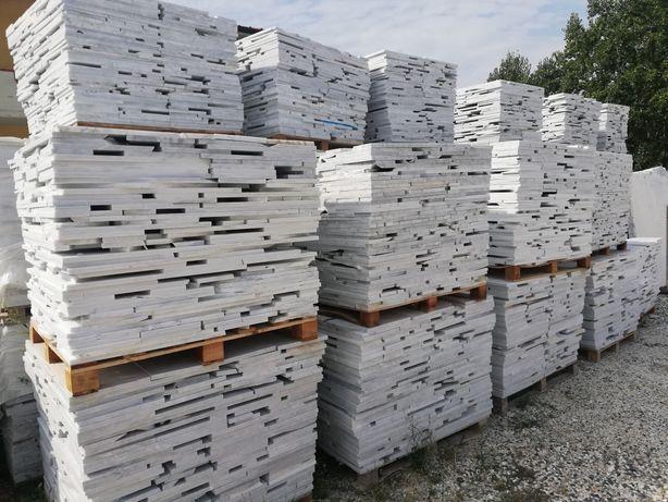 Marmur Bianco di Carrara 2cm Opus Incertum Palladiana