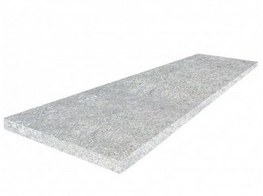 Schody - GRANIT PŁOMIEN.–150x33x2 cm kamień szary GREY - stopnica