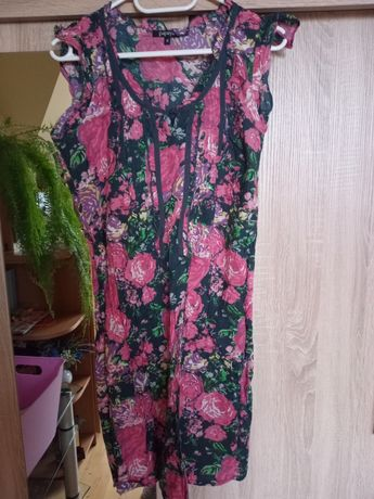 Ròżowa sukienka Papaya rozmiar 12