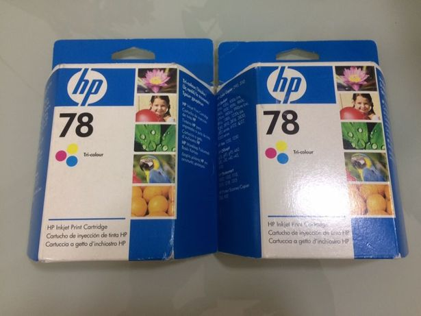 Tinteiros a Cores para impressora HP Novos