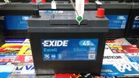 Akumulator Exide Excell EB454 12V 45Ah 330A P+ Kraków CB454