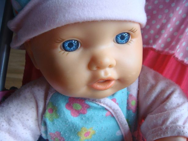 lala lalka z wozkiem mowiaca lala  dzien dziecka bobasek bobas