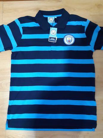 Polo Oficial Manchester City Tamanho M (NOVO)
