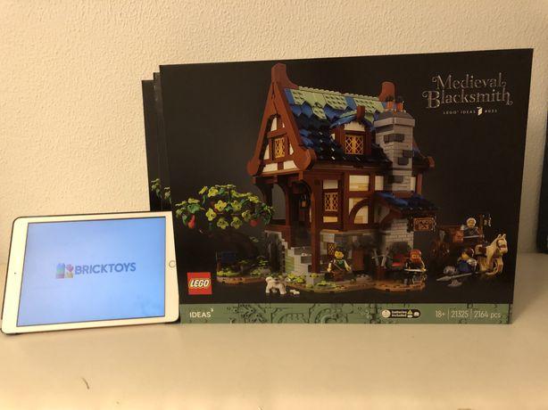 LEGO - IDEIAS 21325 Medieval BlackSmith / Ferreiro Medieval