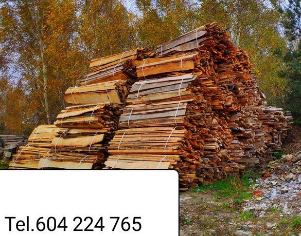 Drewno oflisy zrzyny