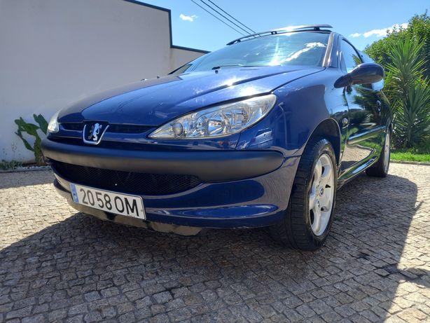 Peugeot 206 1.1 XR Teto Abrir