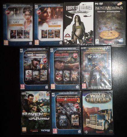 Gry komputerowe PC 11+1+1 dvd retro,FOLIA,CI games,TopWare,Nostradamus