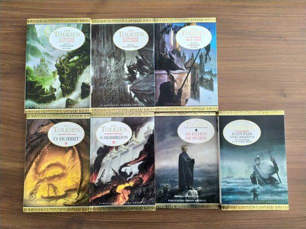 Coleção livros Tolkien / Senhor dos Anéis