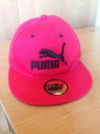 Красная кепка Puma
