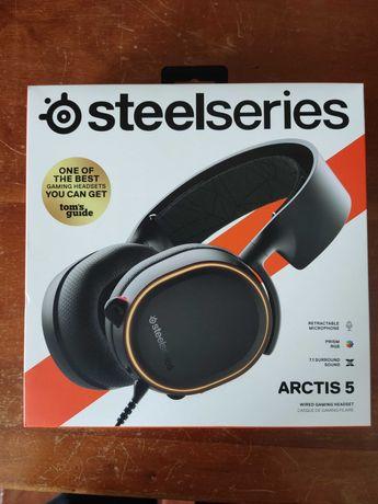 SteelSeries  Arctis 5 7.1    Auscultador gaming /Gaming Headset