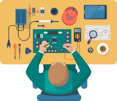 Ремонт компьютеров, ноутбуков, планшетов, ЖК-телевизоров