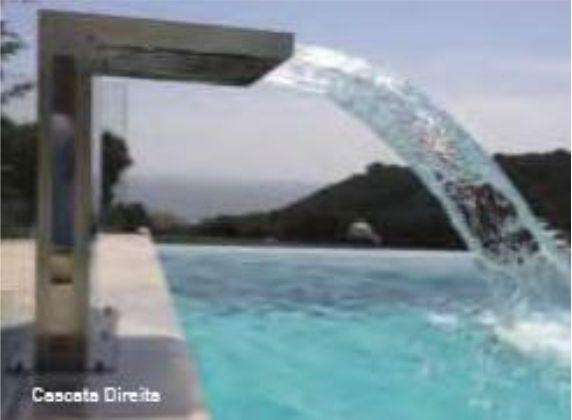 Cascata Direita para piscina