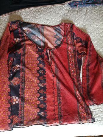 Легкая блуза-топ,для отдыха,пляжа,р-р S