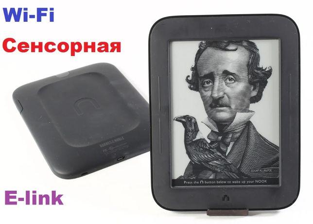 """Электронная Сенсорная Книга Nook Simple Touch 6"""" EPUB E INK"""