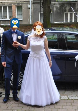 Suknia ślubna Margarett 38