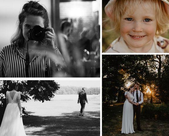 Fotografia ślubna, lifestyle'owa, rodzinna