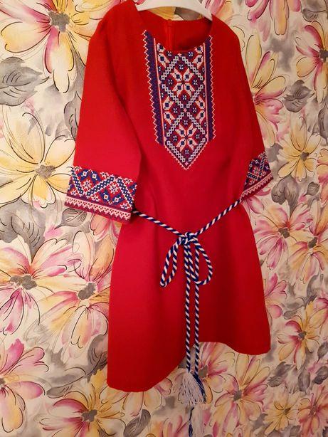Вишиванка для дівчинки вишите плаття