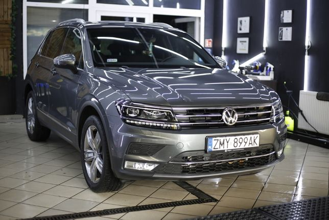 Volkswagen Tiguan highline 2.0TDI 190KM 4MOTION full opcja
