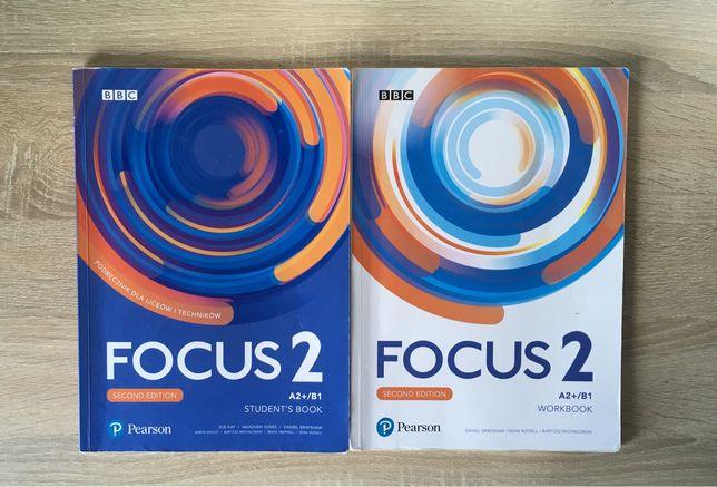 Podręcznik Ćwiczenie Focus 2 Second Edition Pearson Angielski