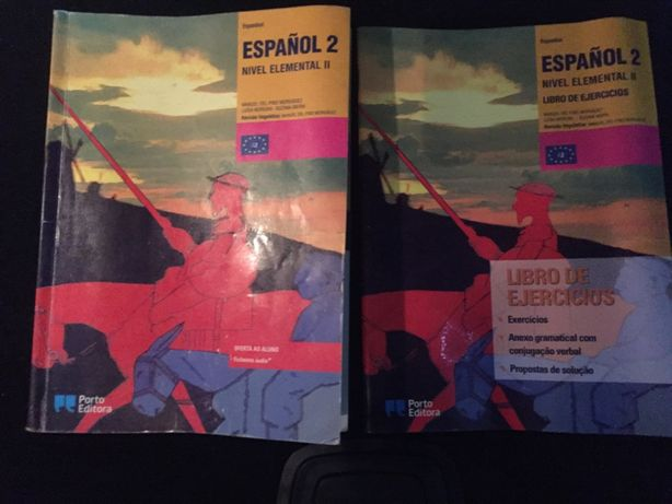 Livros de Espanhol nível 2