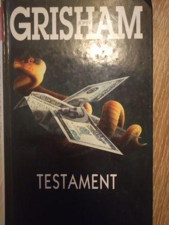 "Testament"" John Grisham"