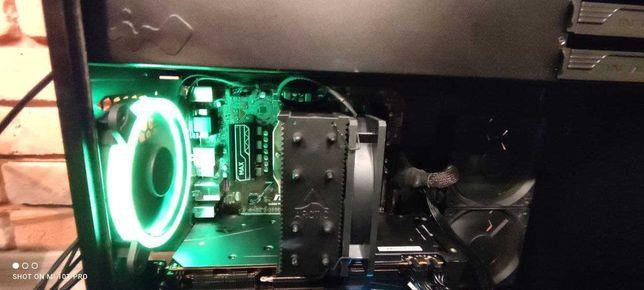 Komputer gamingowy B450M*NvME 256GB*Ryzen*5600XT*16GB RAM 3200MHz 16cl