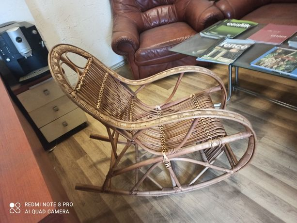Fotel bujany dla dzieci