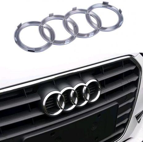 Simbolo frente grelha Audi A3, A4, A5 A6 e A7